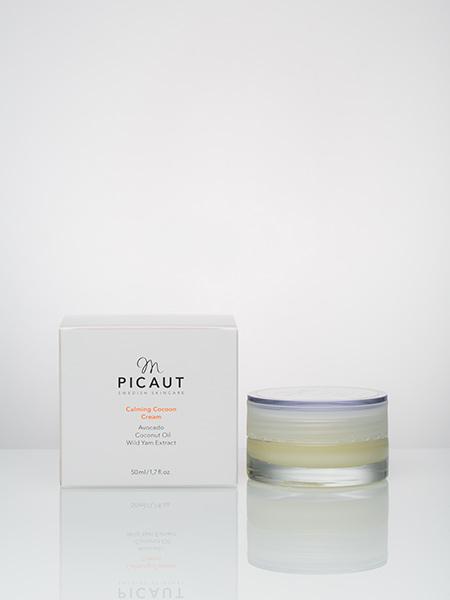 Calming Cocoon Cream Stärker den lipida barriären Mjukgör och förbättrar elasticiteten 100% konserveringsfri